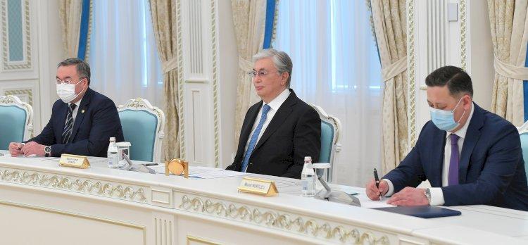 Касым-Жомарт Токаев принял главу МИД Ирана