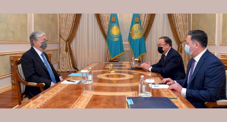 Глава государства принял Спецпредставителя по международному сотрудничеству