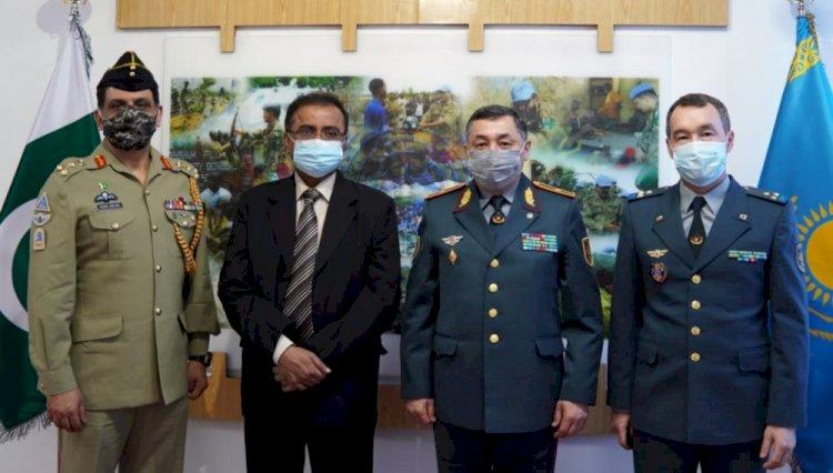 Посол Пакистана посетил Центр миротворческой подготовки в Алматы