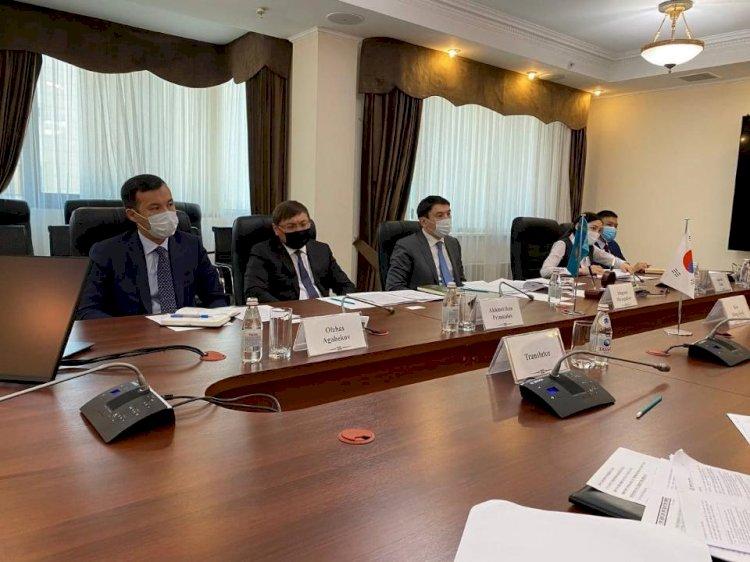 Министр экологии Казахстана встретился с послом Кореи