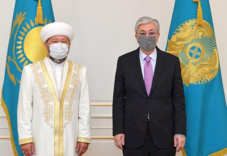 Касым-Жомарт Токаев принял Верховного муфтия Казахстана