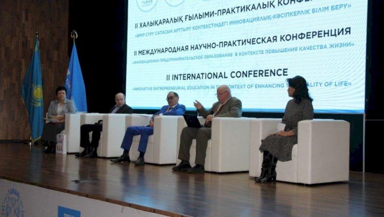 Гульнара Нурмуханова: «Туран» позиционируется как инновационно-предпринимательский вуз