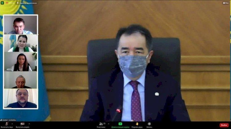 Аким Алматы провел личный прием граждан