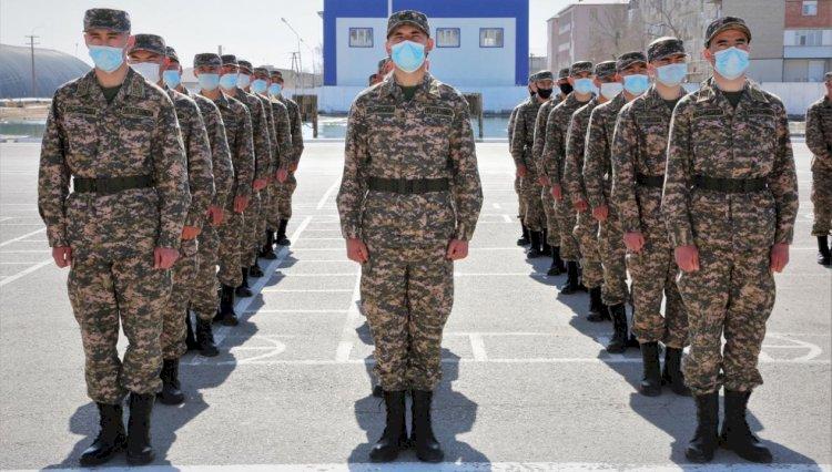 Более 6,7 тыс. юношей пойдут в армию в Казахстане