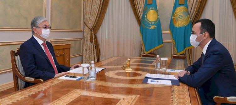 Президент Казахстана принял председателя Сената Парламента