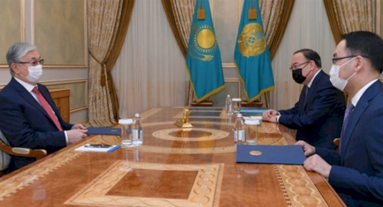 Президент дал поручения новому послу Казахстана в США