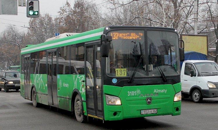 С 15 апреля изменят маршрут автобуса №137 в Алматы