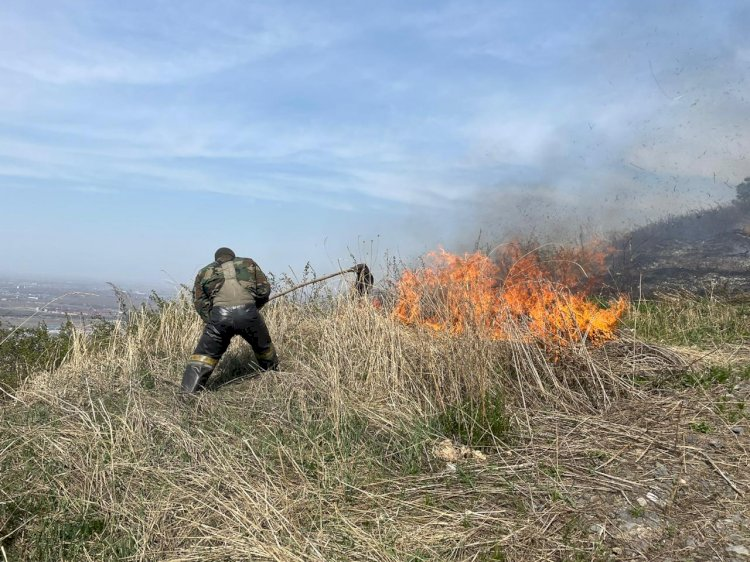 Алматинцам напомнили о мерах пожарной безопасности