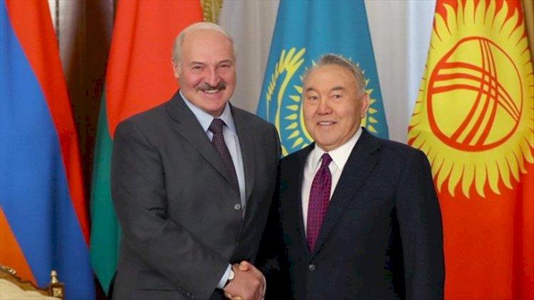 Нурсултан Назарбаев и Александр Лукашенко обсудили международную обстановку