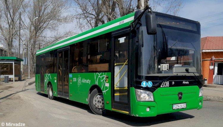 Схему движения автобуса №115 изменили в Алматы