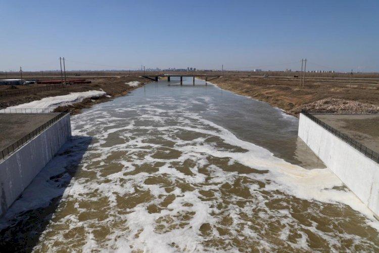 На реках Казахстана начался процесс ледохода