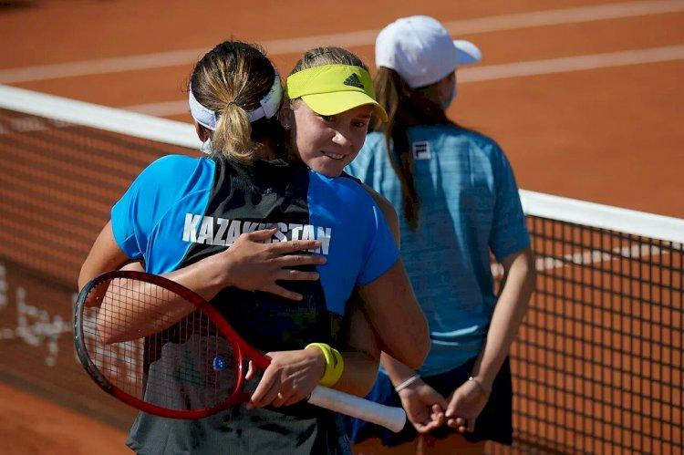 Казахстанские теннисистки одержали историческую победу