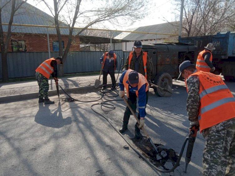 За сегодняшний день в Алматы пройдут ремонтные работы на 39 улицах
