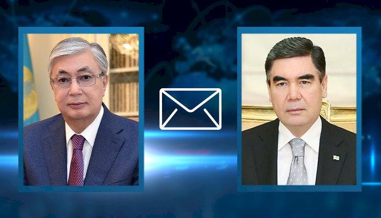 Касым-Жомарт Токаев выразил соболезнования Президенту Туркменистана
