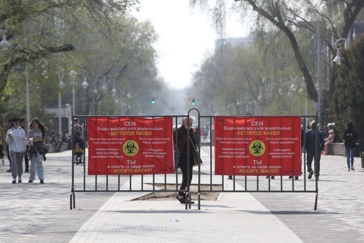 В Алматы больными COVID-19 занято свыше 60% коечного фонда