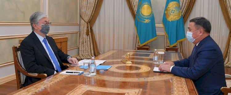 Глава государства принял председателя Агентства по противодействию коррупции