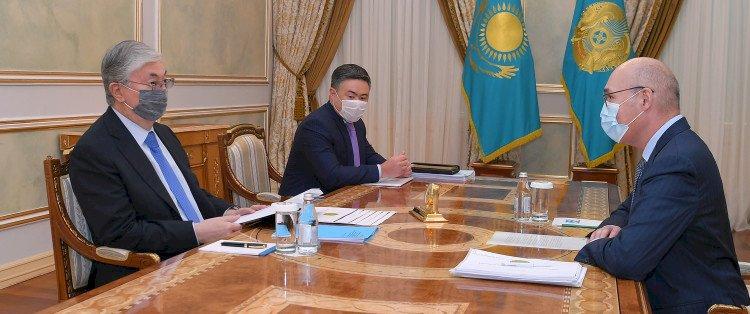 Президент принял председателя Агентства по стратегическому планированию и реформам