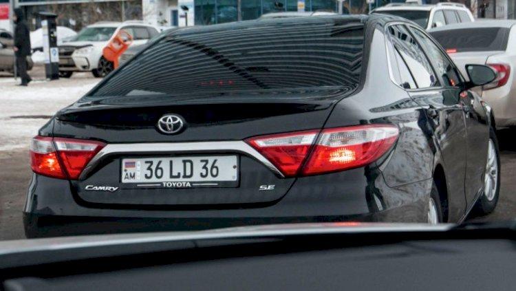Автомобили из Армении не будут облагать налогом дважды