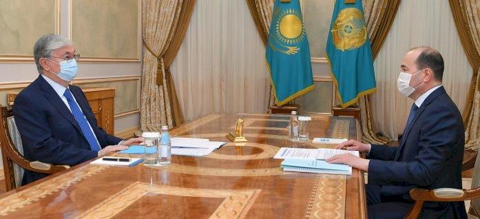 Президент принял Генерального прокурора РК