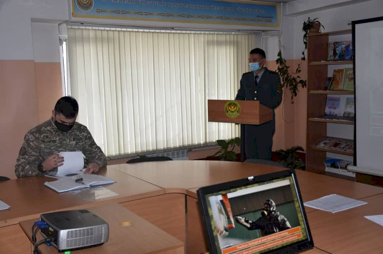 Лучших изобретателей определили среди курсантов военного вузав Алматы
