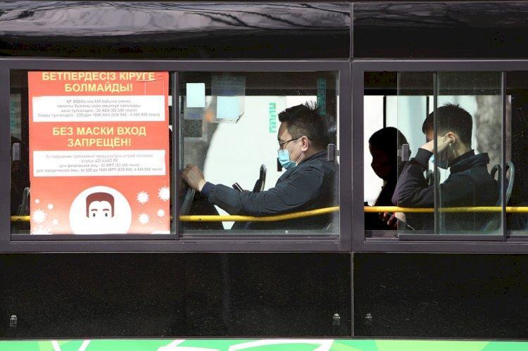 Бакытжан Сагинтаев: Количество заражений в общественном транспорте снизилось в Алматы