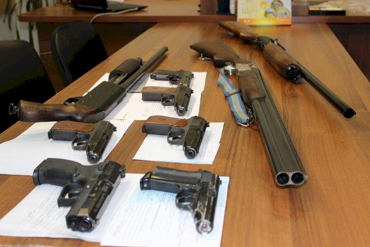 Акция по сдаче оружия стартовала в Алматинской области