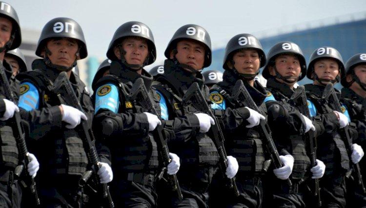 Военная полиция Казахстана отмечает профессиональный праздник