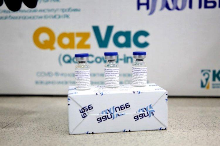 Первую партию вакцины QazVac отгрузили в Казахстане