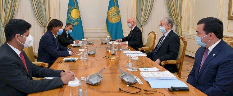 Касым-Жомарт Токаев принял исполнительного председателя ArcelorMittal Лакшми Миттала
