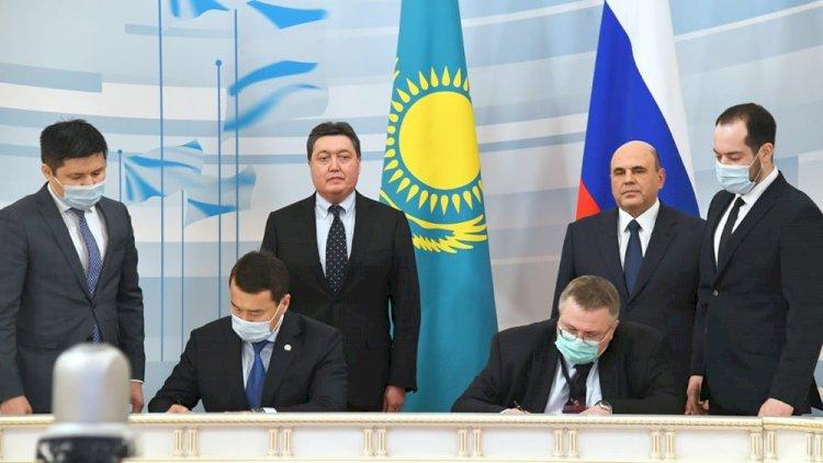 Казахстан и Россия подписали ряд документов о дальнейшем сотрудничестве