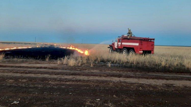 В МЧС Казахстана готовятся к сезону лесных  и степных пожаров
