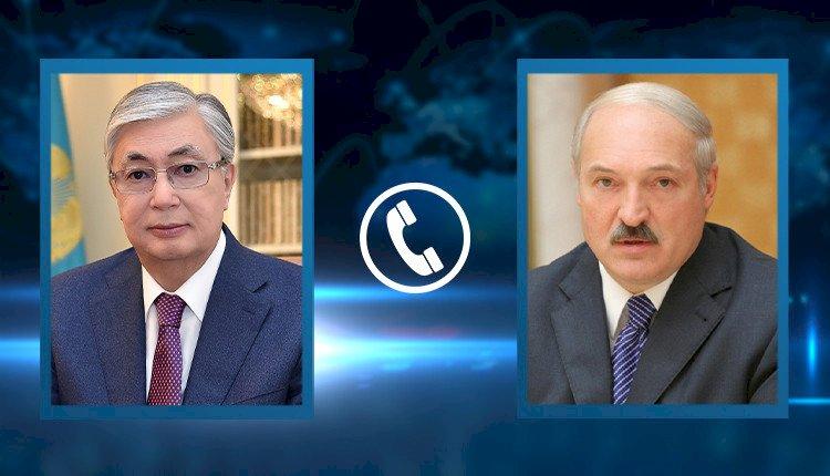 Состоялся телефонный разговор Президентов Казахстана и Беларуси