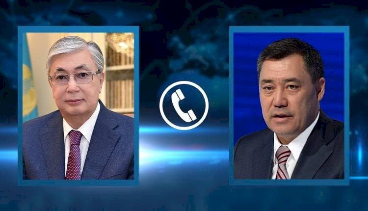 Состоялся телефонный разговор Президентов Казахстана и Кыргызстана