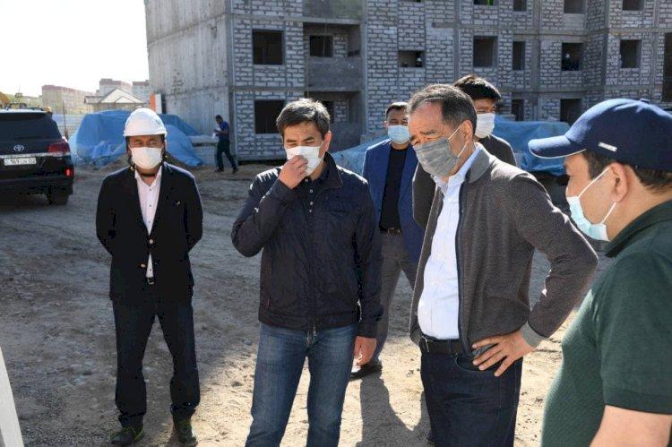 Аким Алматы проверил объекты строительства в Турксибском районе