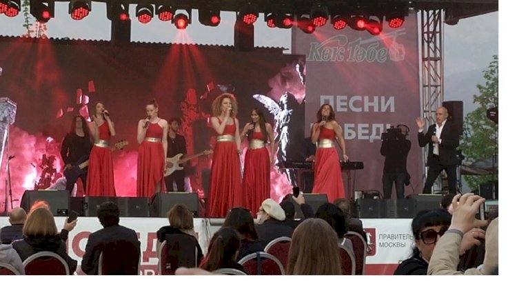 «Песни Победы» в исполнении «Хора Турецкого» и Soprano прозвучали в Алматы