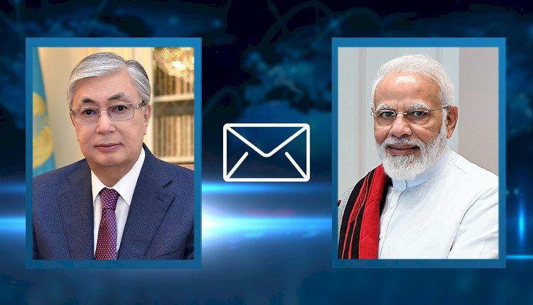 Президент Казахстана направил телеграмму Премьер-министру Индии