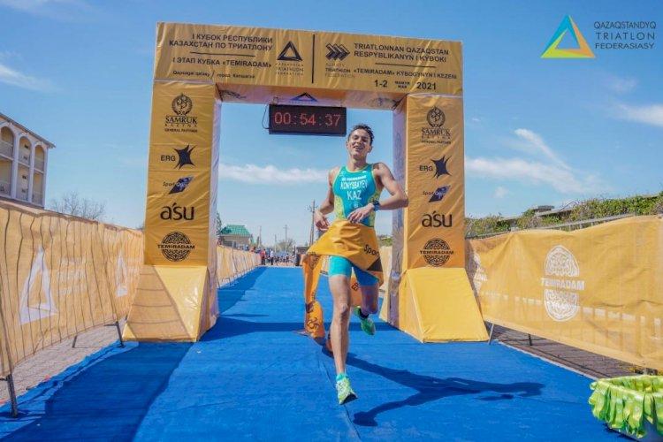 Завершился I этап Кубка Temiradam по триатлону
