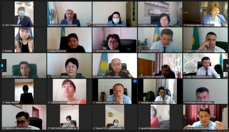 Ержан Бабакумаров провел совещание по мерам эпидбезопасности при проведении ЕНТ