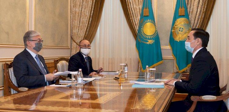 Глава государства принял Марата Азильханова