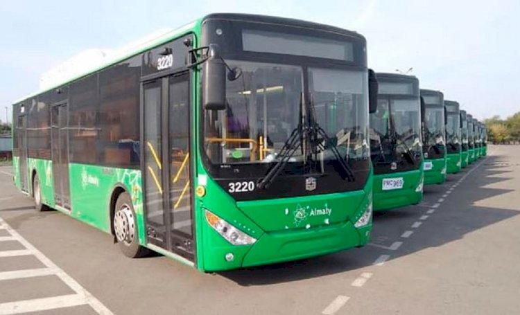 В Алматы изменили схему движения автобусного маршрута №34