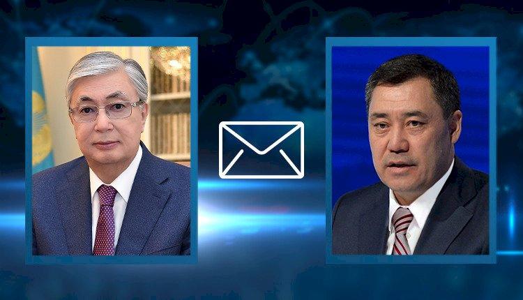 Касым-Жомарт Токаев поздравил Президента Кыргызстана с принятием новой Конституции