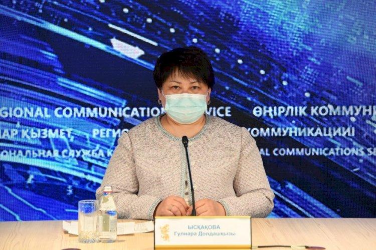 В Алматы целевые группы работников максимально охвачены вакцинацией