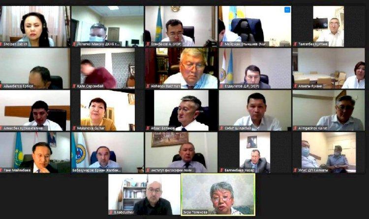 Ержан Бабакумаров провел заседание комиссии по реабилитации жертв политических репрессий