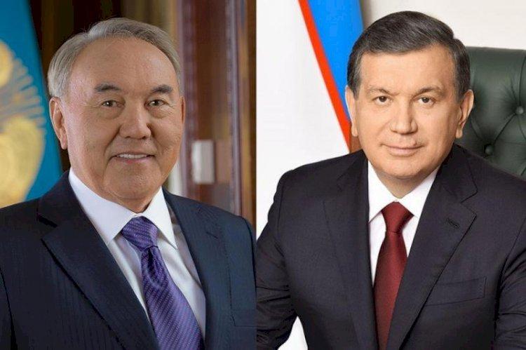 Состоялся телефонный разговор Елбасы с Президентом Республики Узбекистан