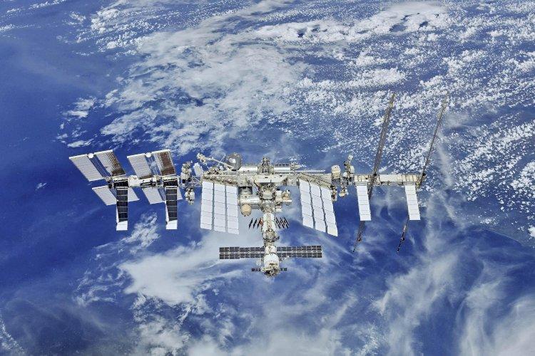 Экипаж МКС поздравил жителей Земли с Днем Победы