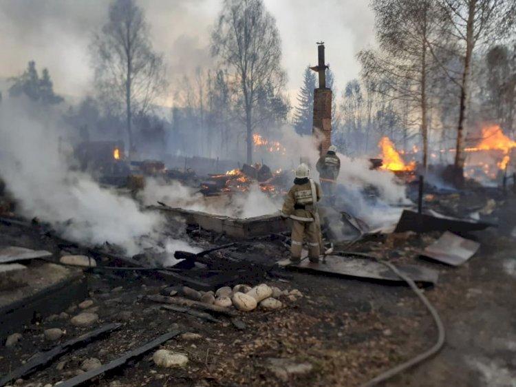 Пожар в Риддере: хронология событий
