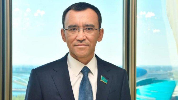 Маулен Ашимбаев вышел с карантина