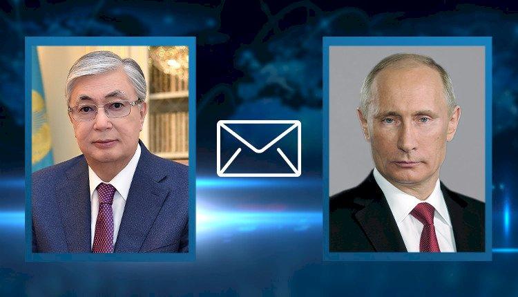 Токаев направил телеграмму соболезнования Президенту России Владимиру Путину