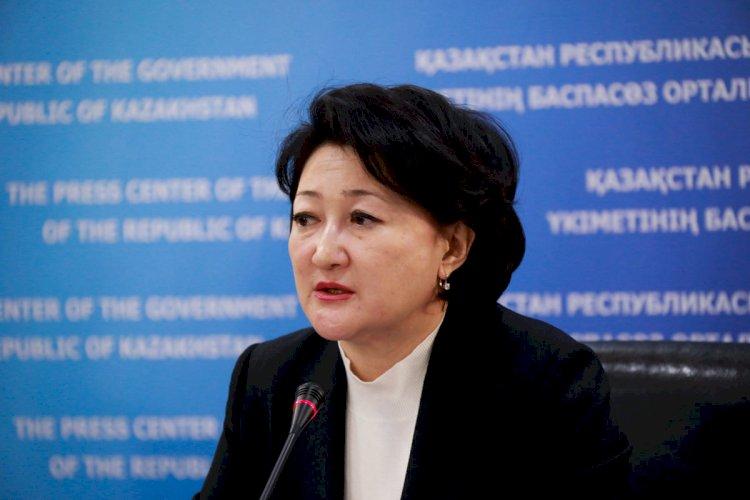 Министр культуры и спорта поздравила участников фестиваля «Рухани қазына-2021»