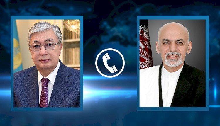 Состоялся телефонный разговор Президентов Казахстана и Афганистана